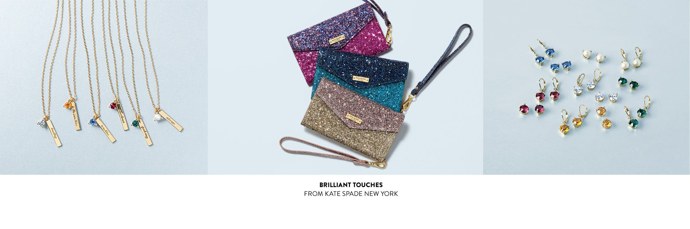 Brilliant touches from kate spade new york.