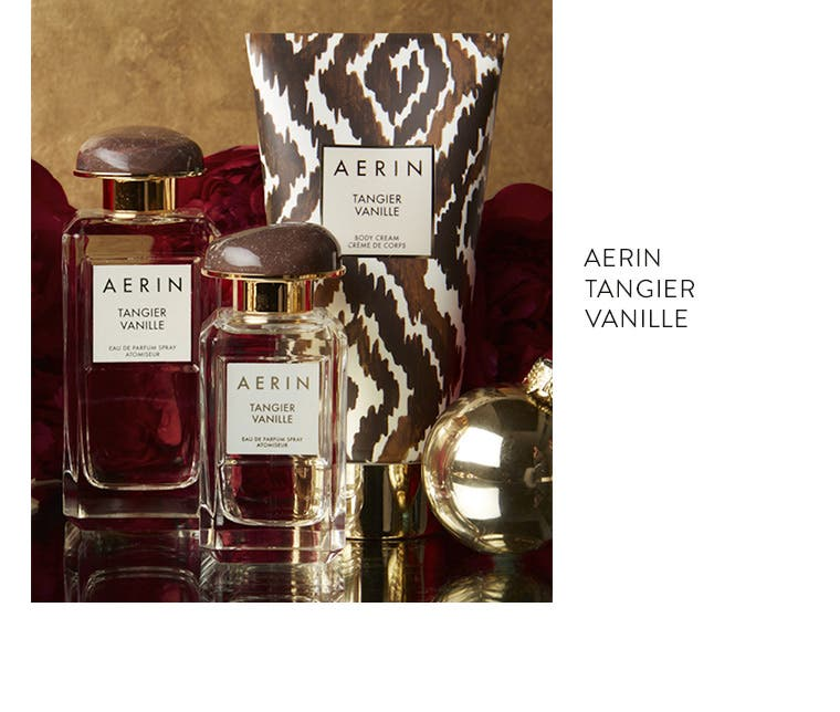 AERIN Beauty Tangier Vanille fragrance.