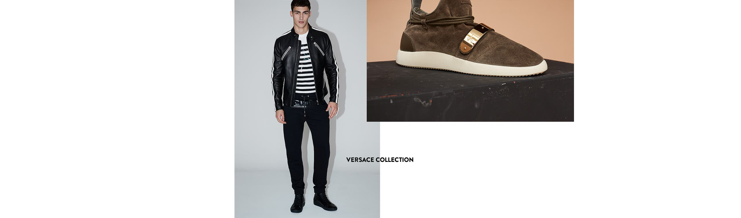 Versace Collection clothes for men.