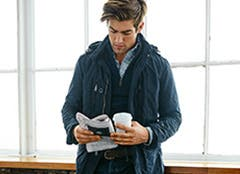 Polo Ralph Lauren men's clothing and accessories.