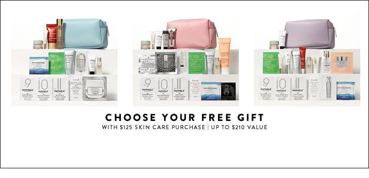 Receive a free 15-piece bonus gift with your $125 Multi-Brand purchase