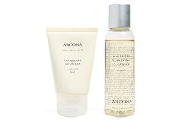 ARCONA gift with purchase.