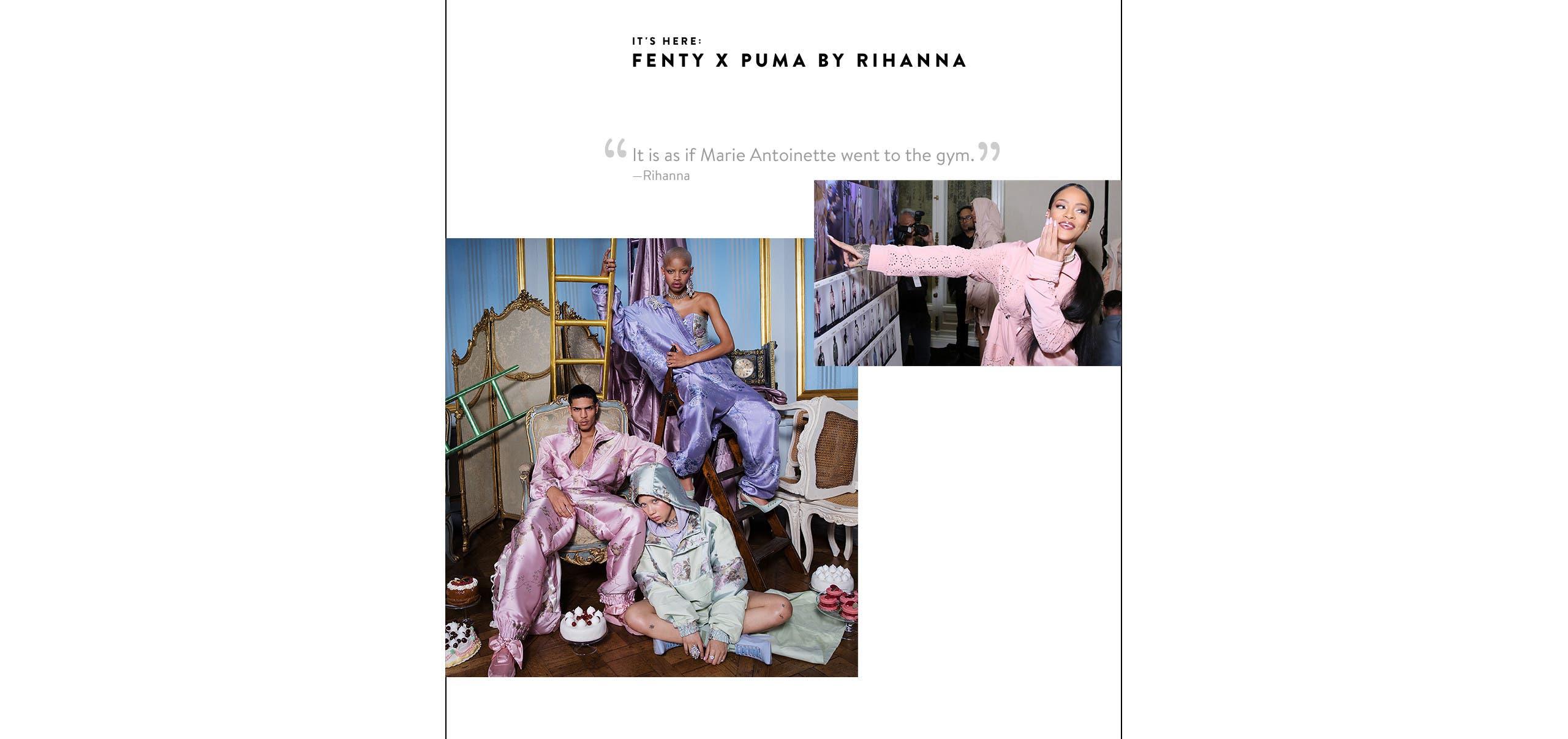 It's here: Fenty x Puma by Rihanna, spring 2017.