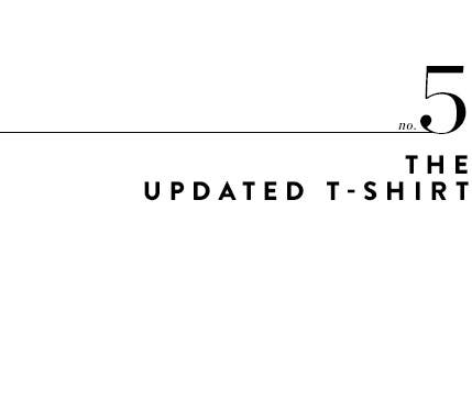 5: the updated T-shirt.