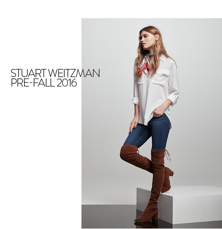 Stuart Weitzman pre-fall 2016 women's boots.