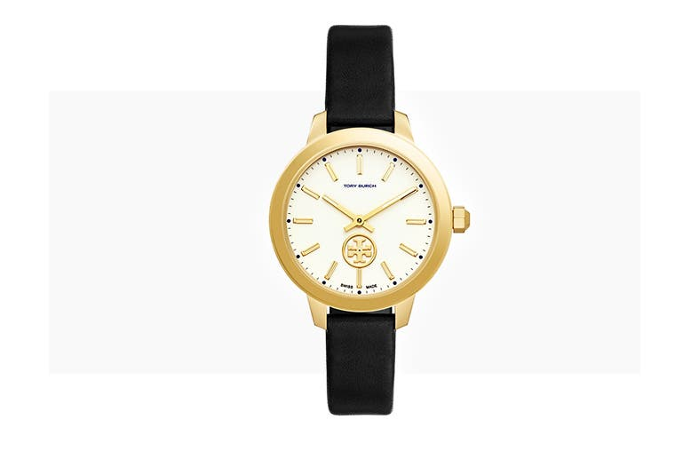 Tory Burch watches and more accessories.
