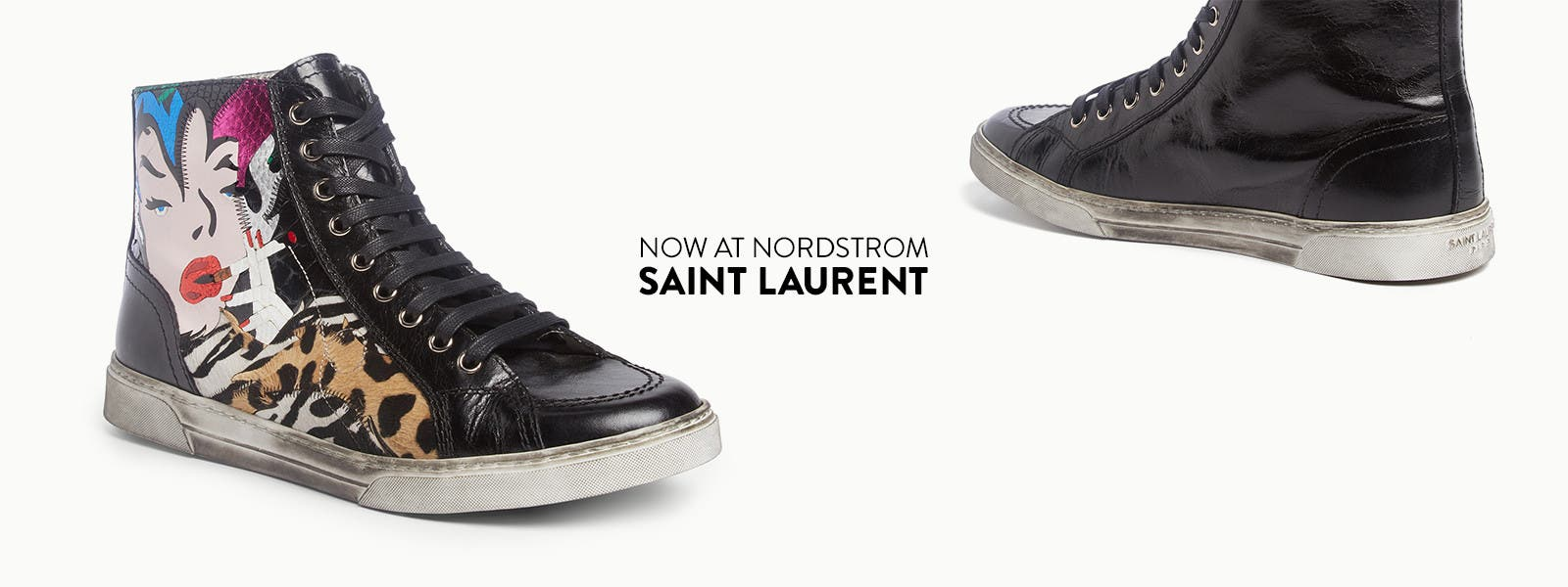 Now at Nordstrom, Saint Laurent for men.