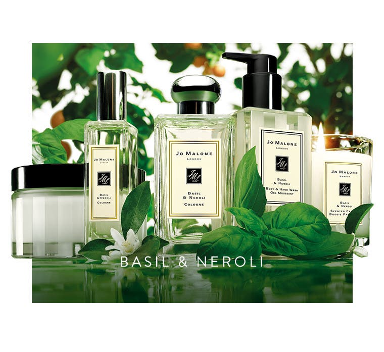 Basil and Neroli fragrance by Jo Malone London.