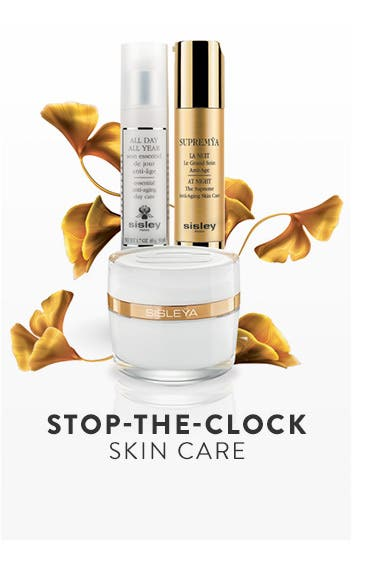 Sisley Paris anti-aging skin care.