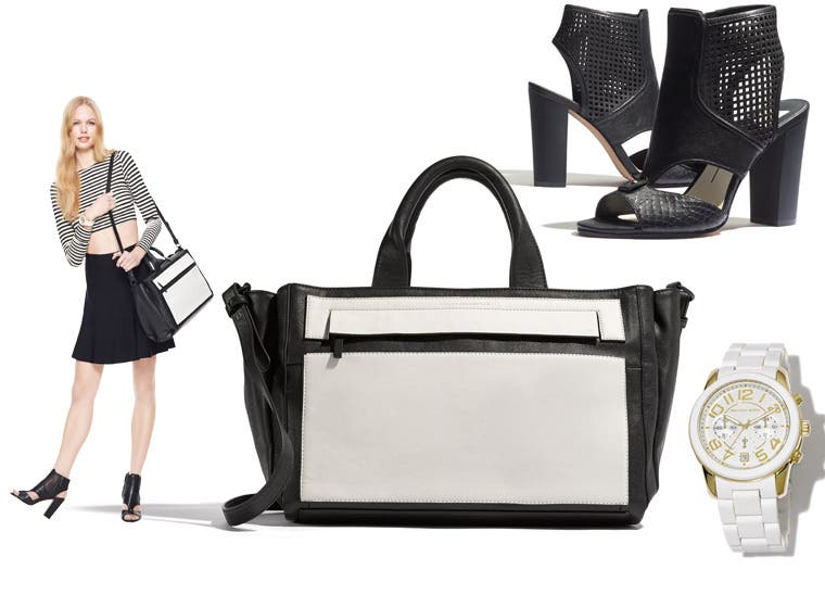 Sporty shoes and accessories for women.