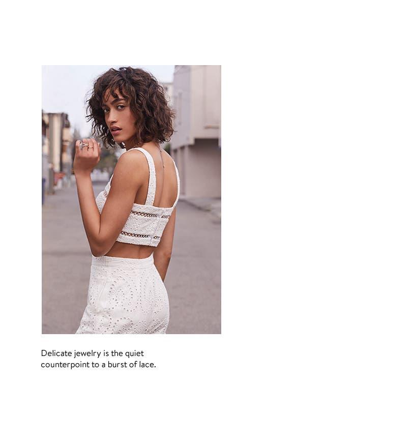 Women's trend accessories.