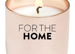 Candles and scents for the home.