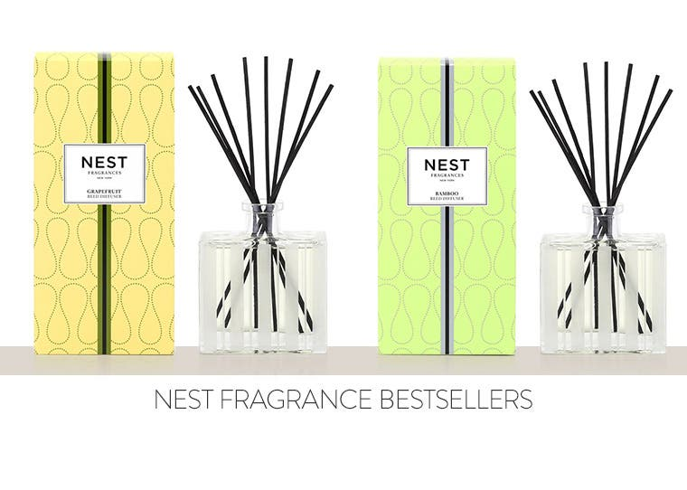Bestselling essential oil diffusers from NEST Fragrance.