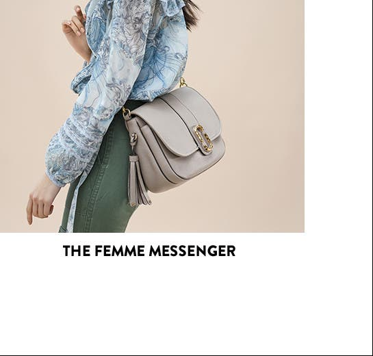 On the list: the femme messenger.