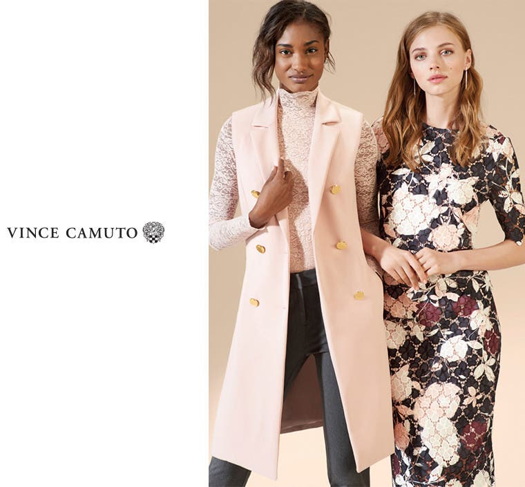 Vince Camuto clothing.