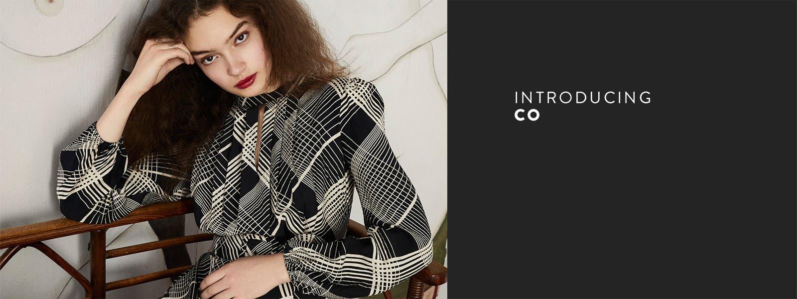 Introducing Co: women's designer clothing.