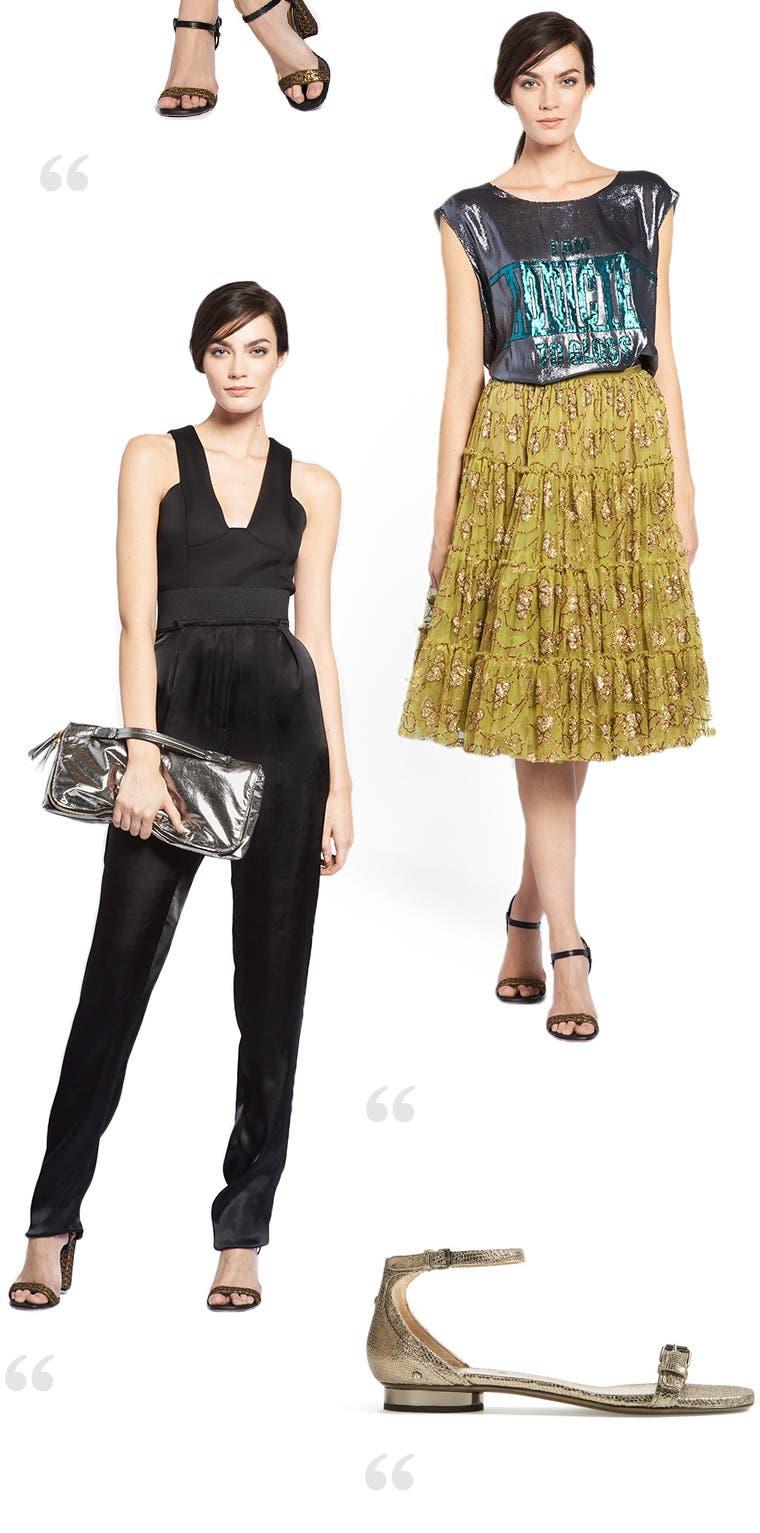 Lanvin clothing, shoes and handbags.