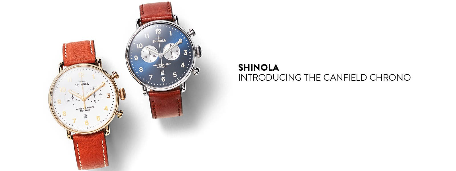 Shinola, Introducing the Canfield Chrono.
