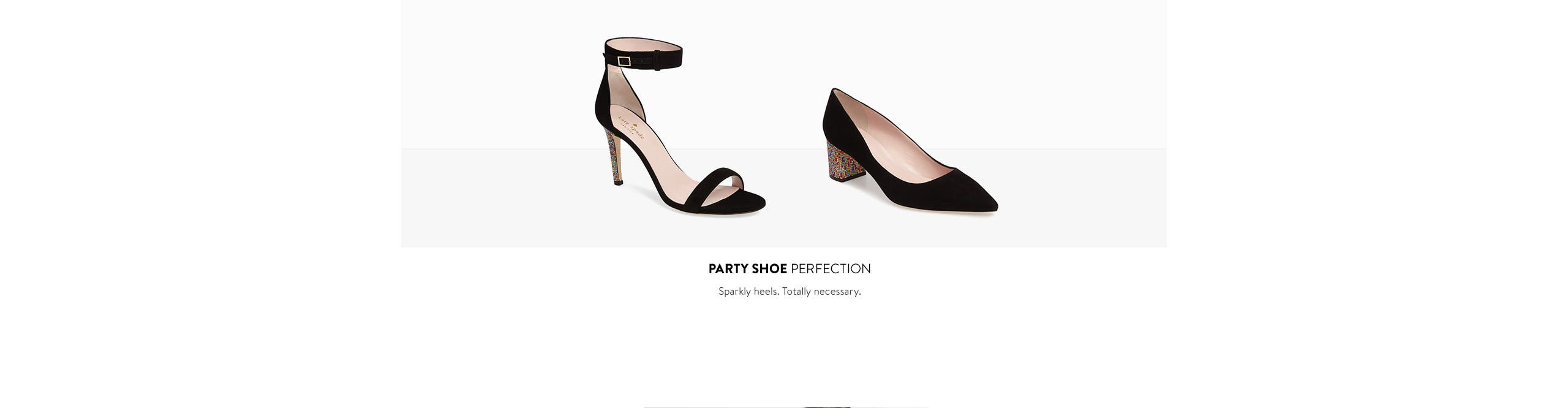 Party shoe perfection.