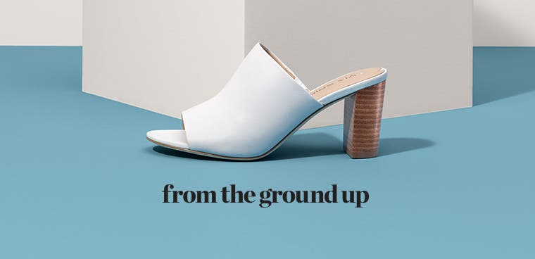 From the ground up: white's hot in summer shoes.