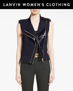Lanvin women's clothing.