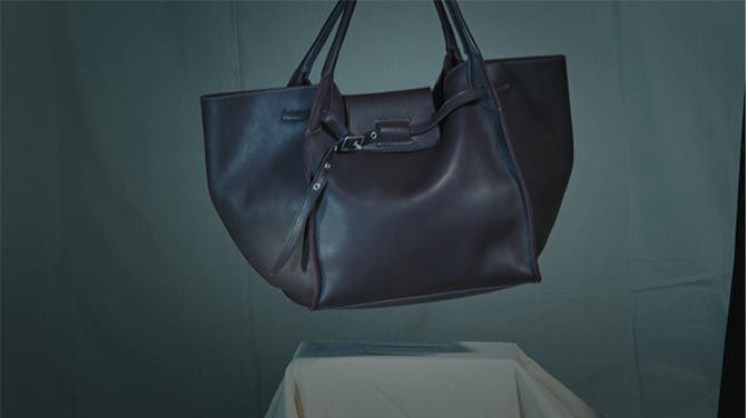Celine bag and clothing. Available in selected Nordstrom stores.