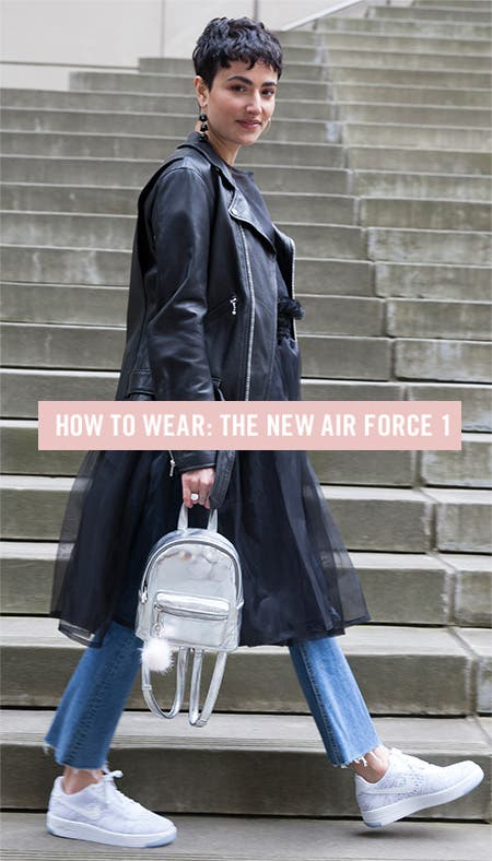 Nordstrom x Nike: how to wear the Air Force 1.