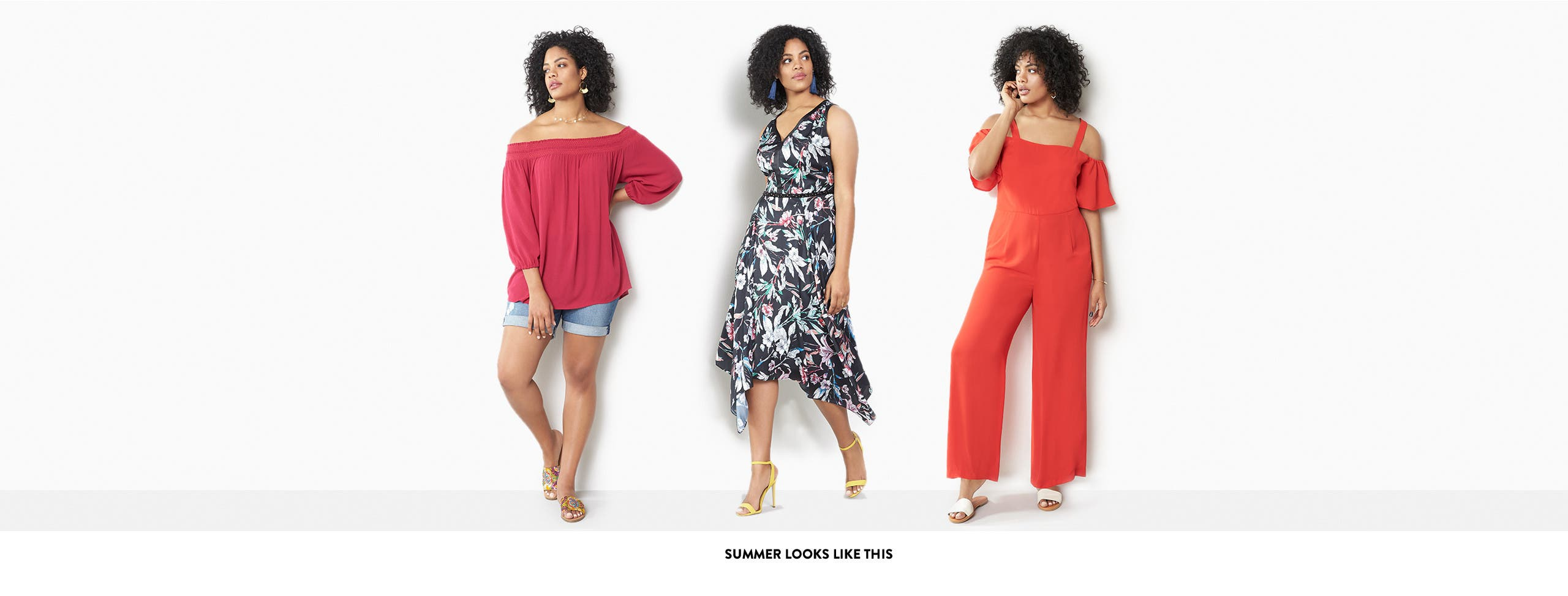 Plus-size summer looks we love.