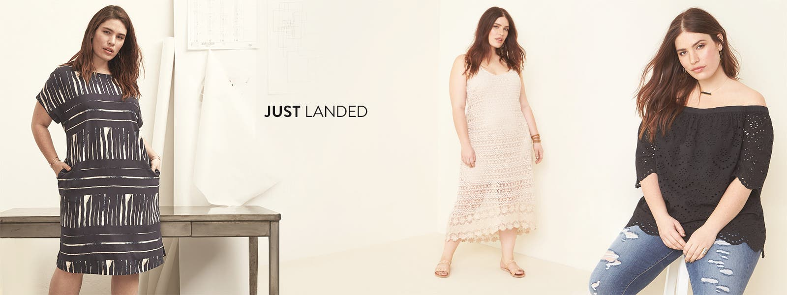 Just landed: summer plus-size new arrivals.
