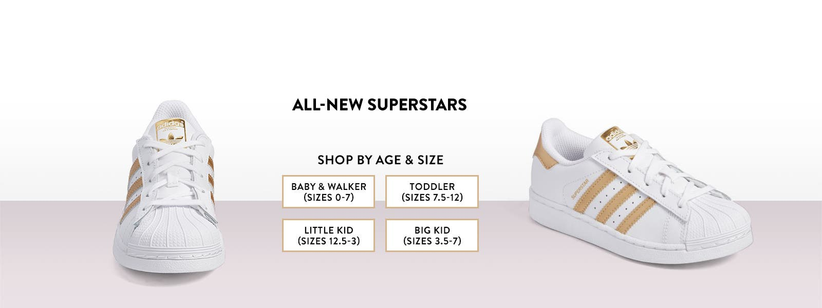 All-new Superstars from Adidas.