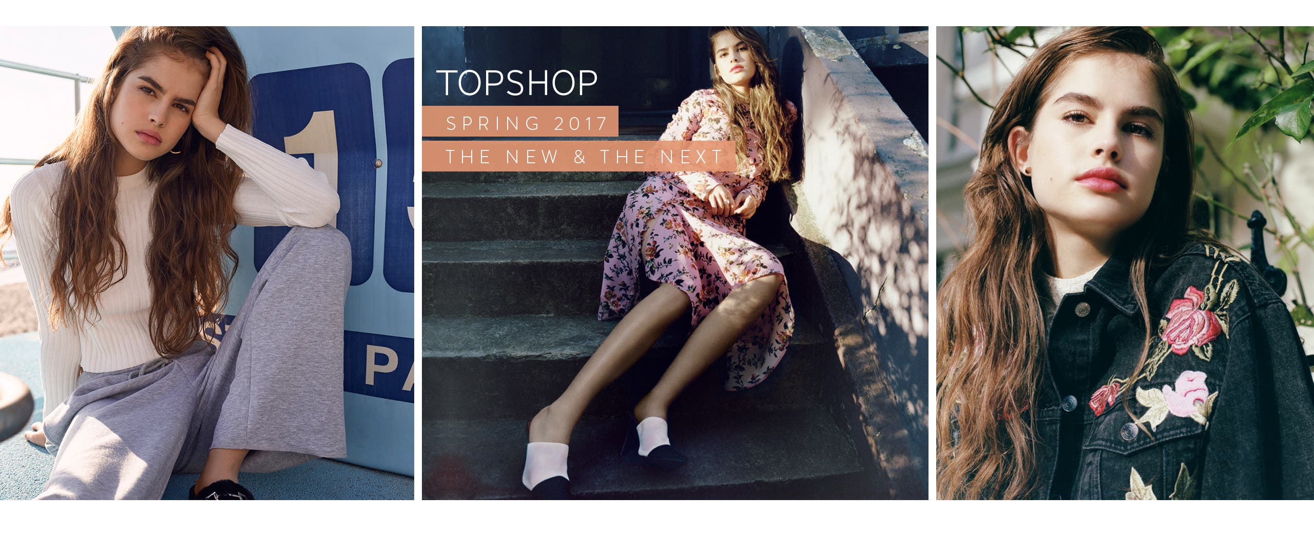 Topshop spring 2017: the new and the next in women's trend clothing, shoes and accessories.