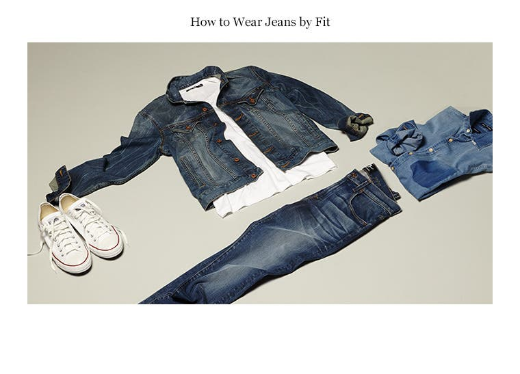 Play video about how to wear jeans by fit.