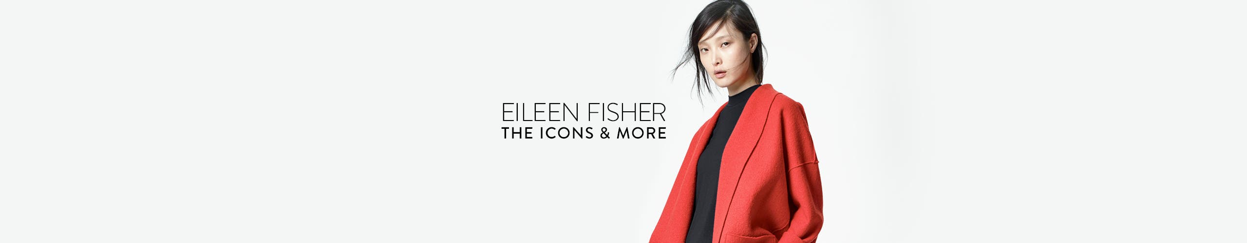 Eileen Fisher clothes for women: the icons and more.