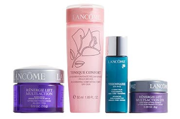 Receive a free 4-piece bonus gift with your $50 Lancôme purchase