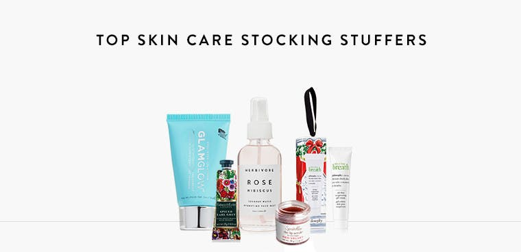 Top skin care for her stocking.
