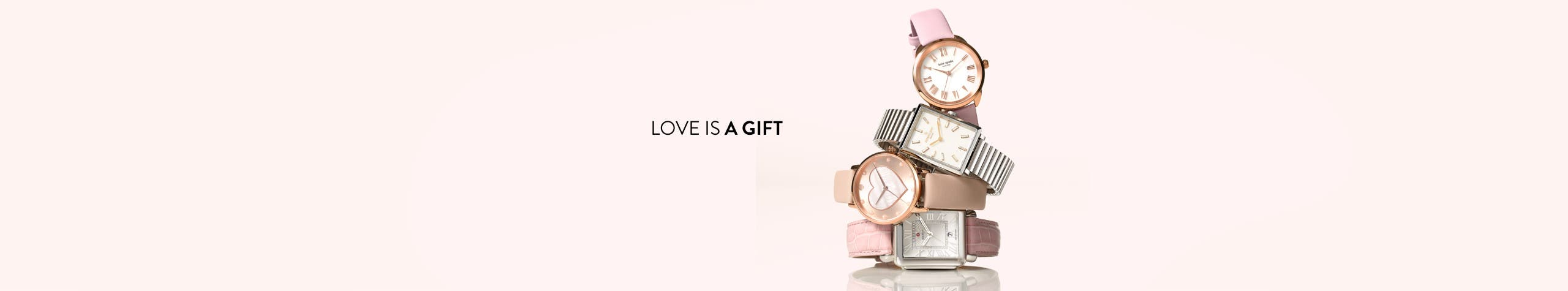 Love is a gift: Valentine's Day watch gifts for women.