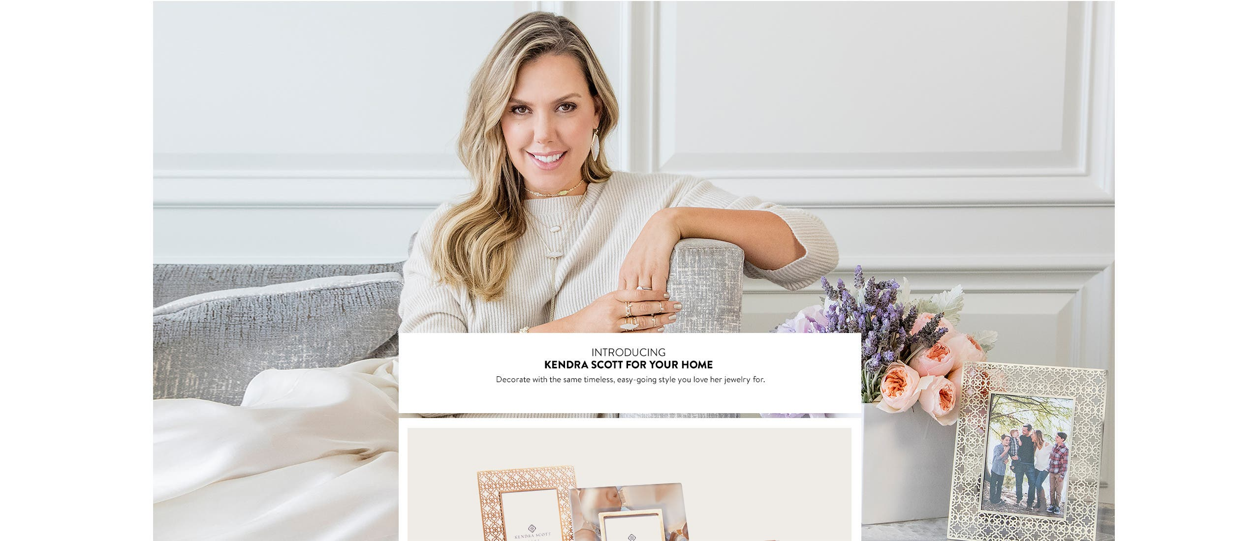 Introducing Kendra Scott for your home.