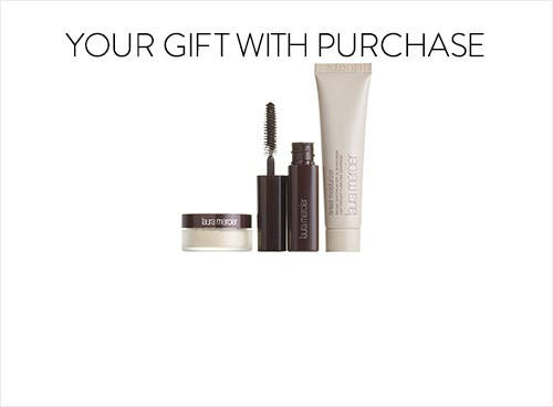 Receive a free 3-piece bonus gift with your $95 Laura Mercier purchase