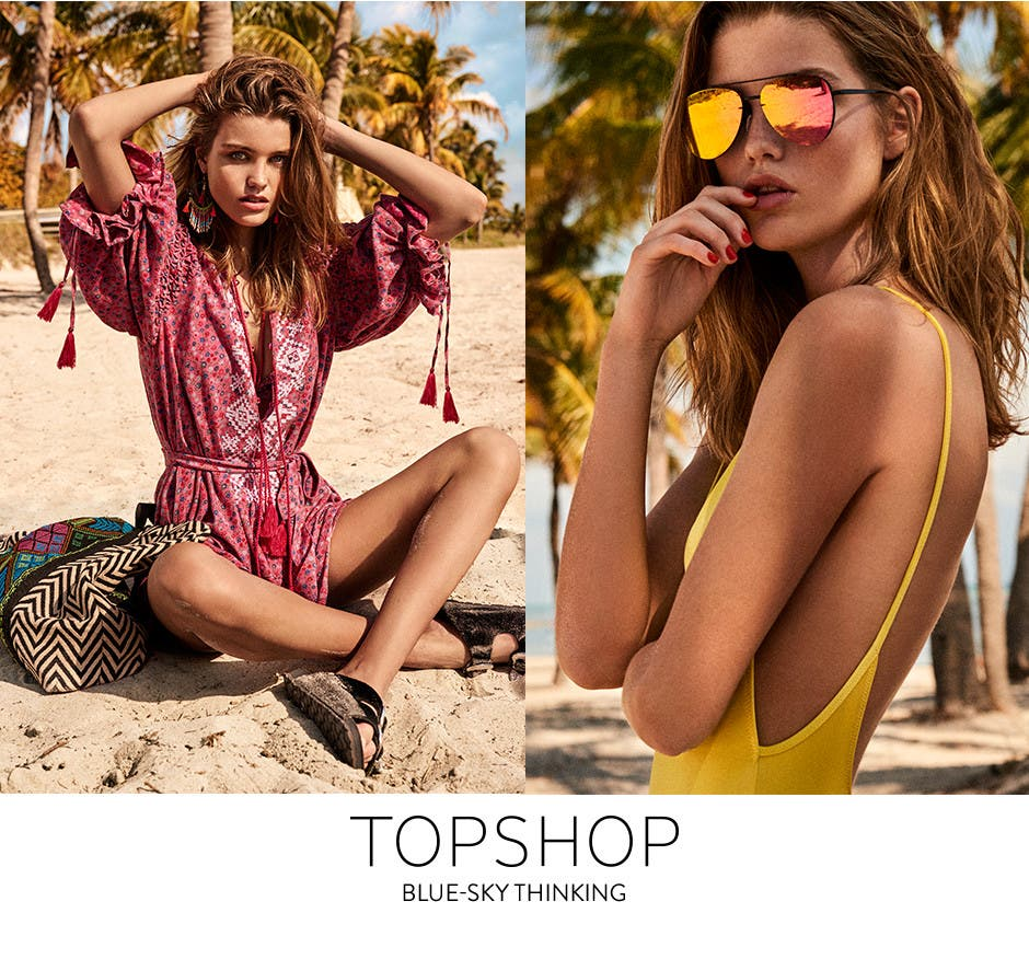 Topshop: blue-sky thinking.
