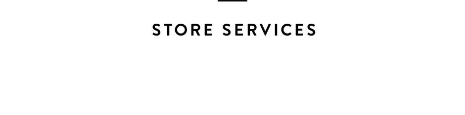 Store Services.