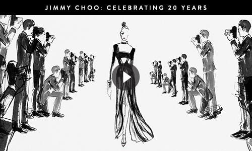 Play video: Jimmy Choo, celebrating 20 years of red carpet appearances.