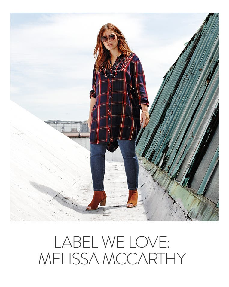 Label we love: Melissa McCarthy.