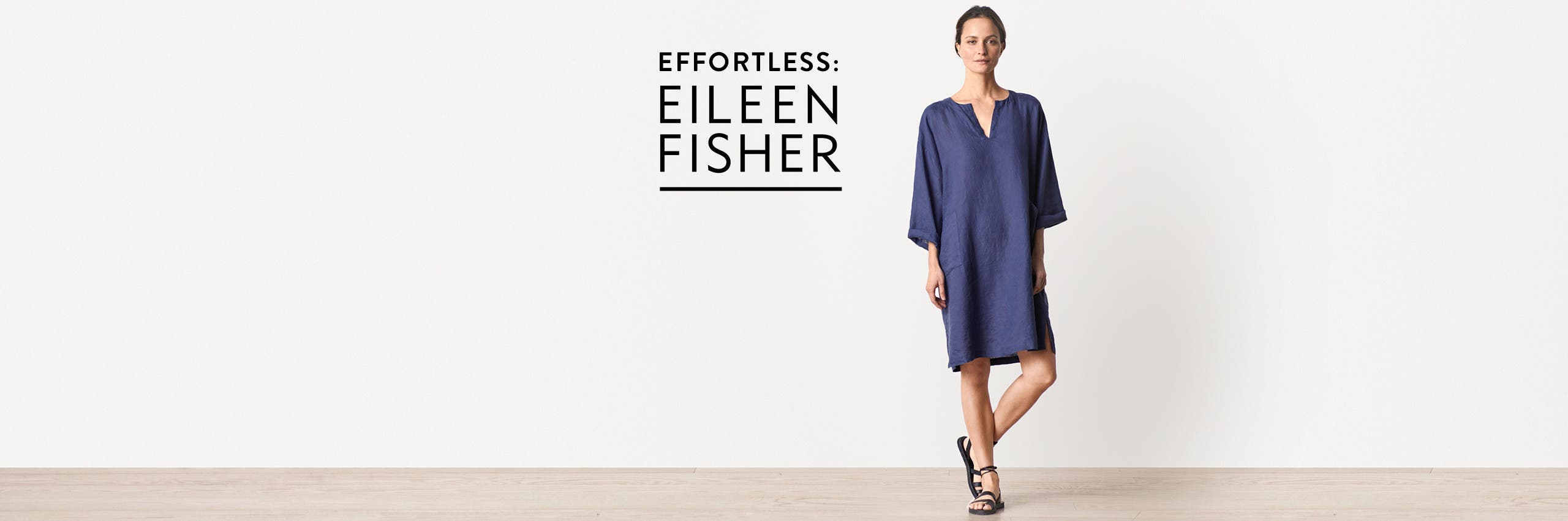 Effortless pieces from Eileen Fisher.
