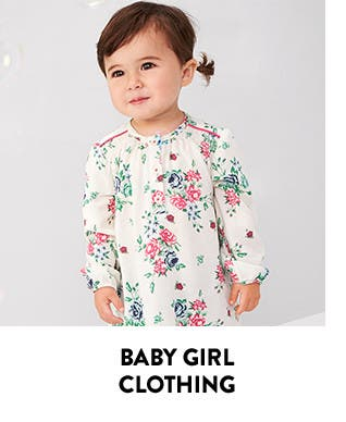 Baby girl clothing.