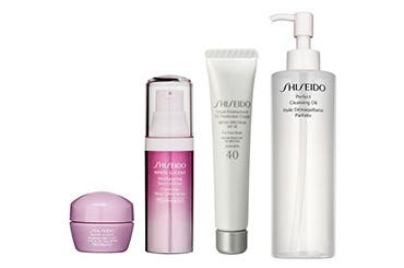 Shiseido gift with purchase.
