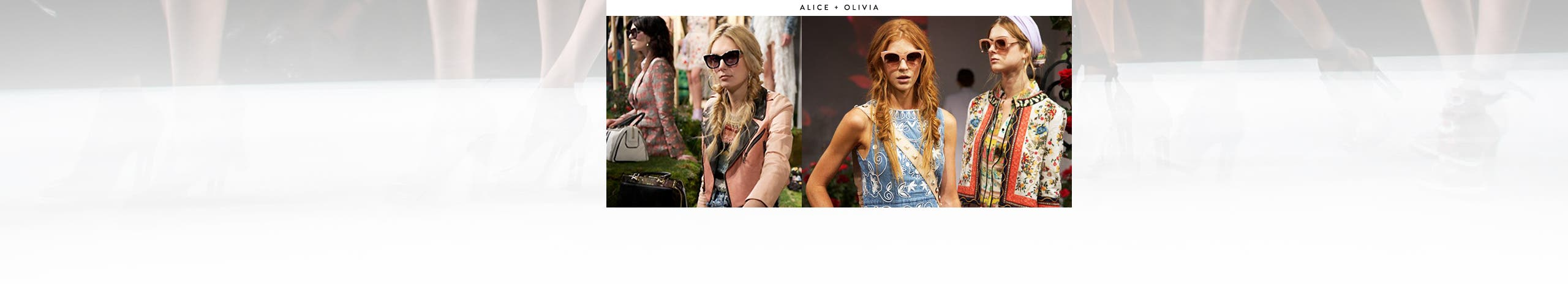 Spring fashion week 2017: Alice and Olivia.