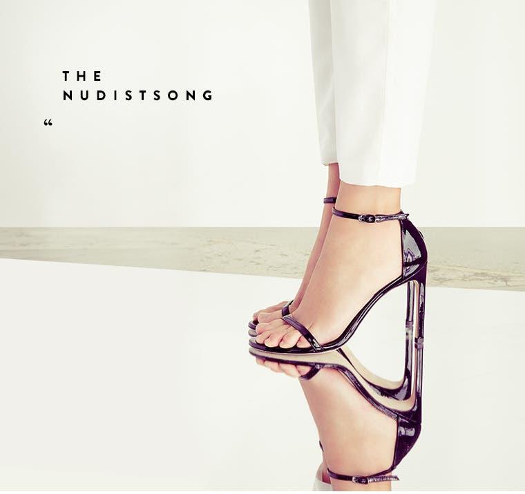 The Nudistsong sandal.