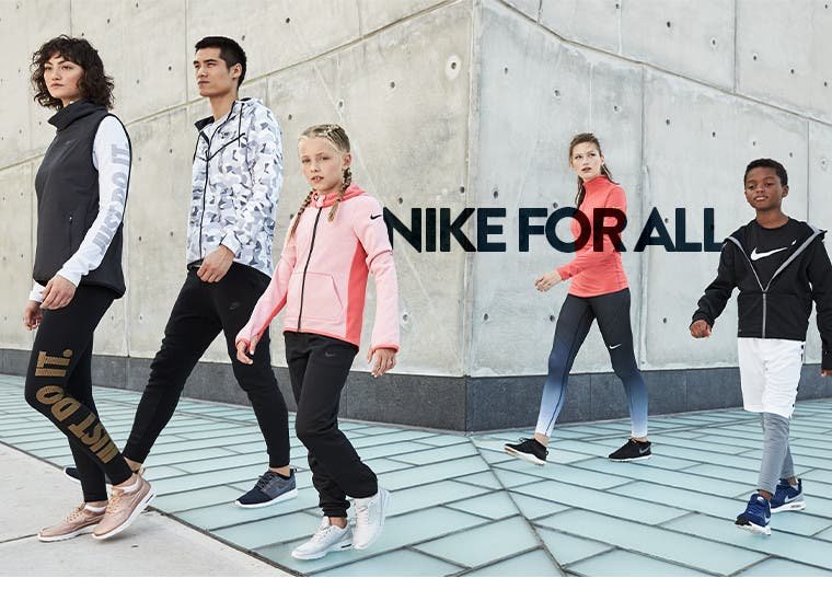 Nike for all.