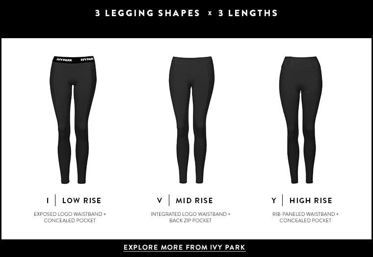 IVY PARK leggings for women.