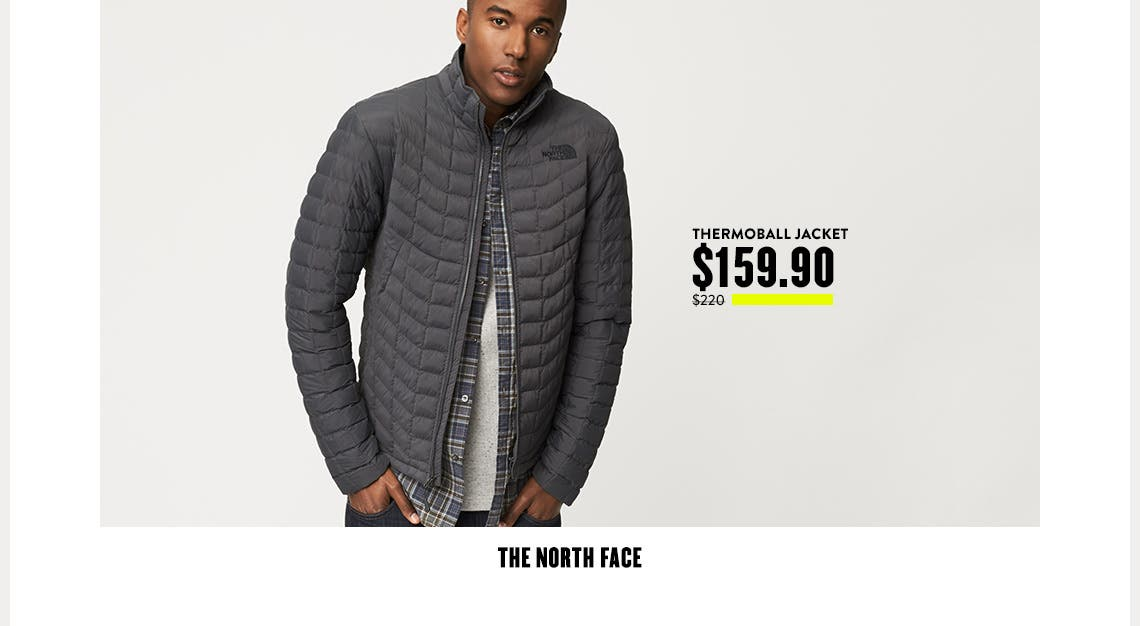 The North Face Thermoball Jacket $159.90